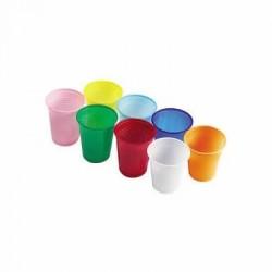 Pahare diferite culori, 100 buc