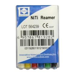 Ace Reamers Ni-Ti 25mm - IMD