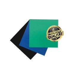 Folii diga heavy, Premium, albastre, 15x15 cm - KKD