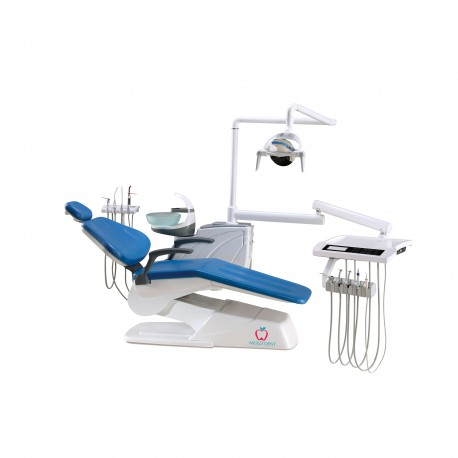 Unit dentar CX-2019 cu bratele/furtunele pe jos