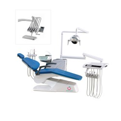 Unit dentar CX-2019 cu bratele/furtunele pe sus