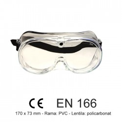 Ochelari de protectie goggles EN 166, MLD2
