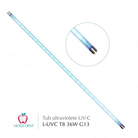 Tub lampa UV-C  36W G13 T8 bactericida, germicida pentru dezinfectare, sterilizare