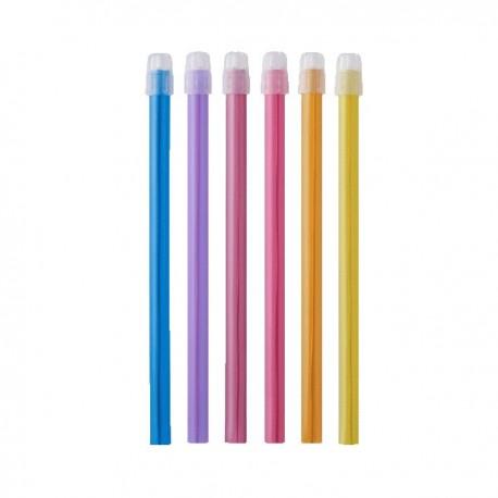 Aspiratoare, diferite culori, 100 buc