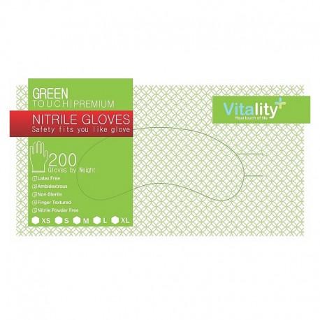 Manusi nitril, Green Touch, XS, S, M, L