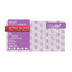 Manusi nitril, Violet Touch, XS, S, M