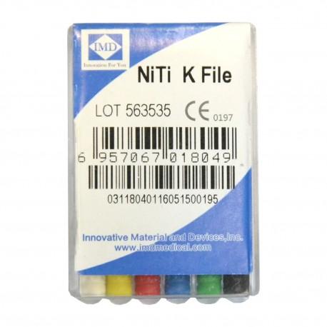 Ace K-File IMD - NiTi