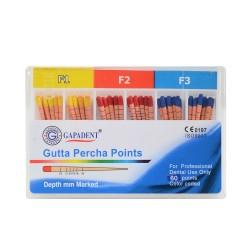 Conuri Gutta Percha, Protaper, M-Taper,  F1 F2 F3 F4 F5, 60 buc