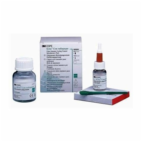 Ciment definitiv glass-ionomer auto, Ketac Cem Radiopaque