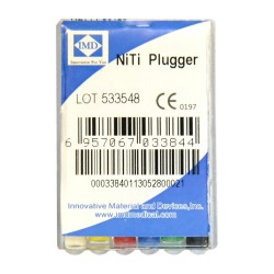 Ace plugger asortate, NiTi, 25mm - IMD