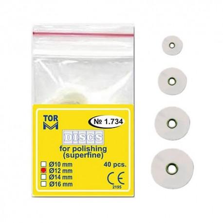 Discuri abrazive albe 1.734, 10, 12, 14, 16 mm - TOR VM