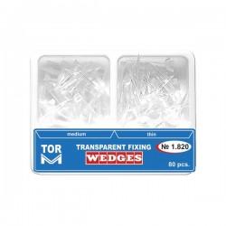 Pene interdentare din plastic transparente 1.820 - TOR VM