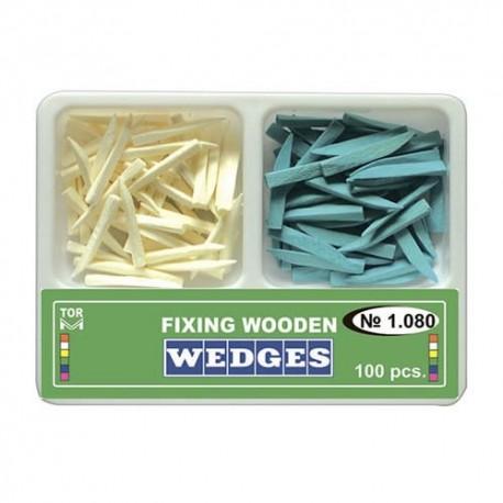 Pene interdentare din lemn, adaptare fixare matrici,1.080 - TOR VM
