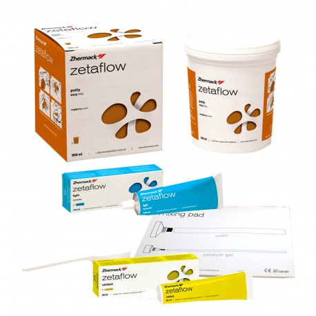 Kit material amprenta Zetaflow, 900 + 140 + 60 ml