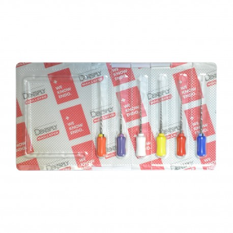Ace manuale Protaper Dentsply SX S1 S2 F1 F2 F3, 21-31 mm