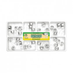 Kit matrici transparente cu cleme, molari, premolari 1096, 32 buc - TOR VM