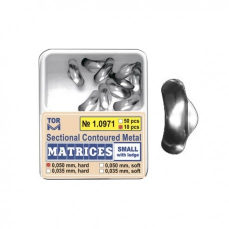 Matrici metalice preformate 10971, 50 buc, 35-50 µm - TOR VM