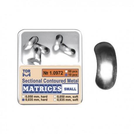 Matrici metalice preformate 10972, 50 buc, 35-50 µm - TOR VM