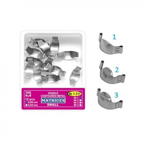 Matrici metalice conturate tip sa, mici, 1311, 35-50 microni - TOR VM