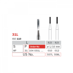 Freze extradure fisura piesa dreapta 31L - Diaswiss