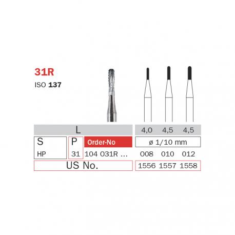Freza extradura fisura piesa dreapta 31R 012 - Diaswiss