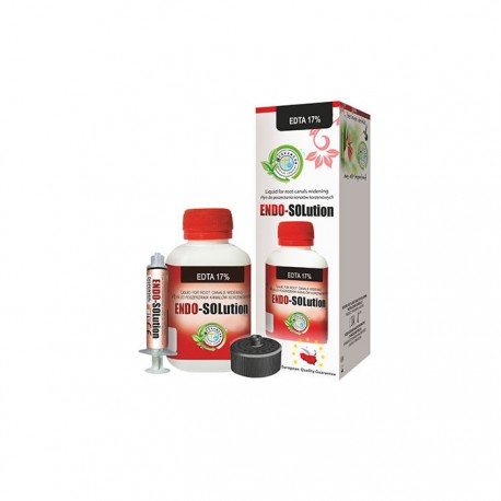 EDTA 17% ENDO-SOLution 120ml - Cerkamed Kit