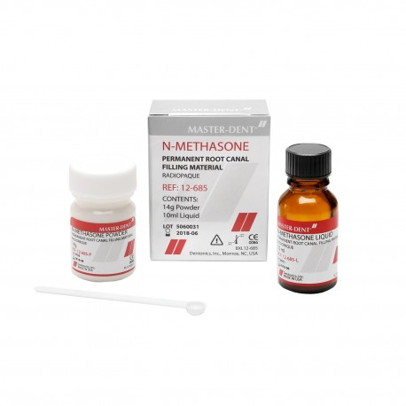 Material obturatii radiculare N-Methasone 14 g +10 ml - Master-Dent