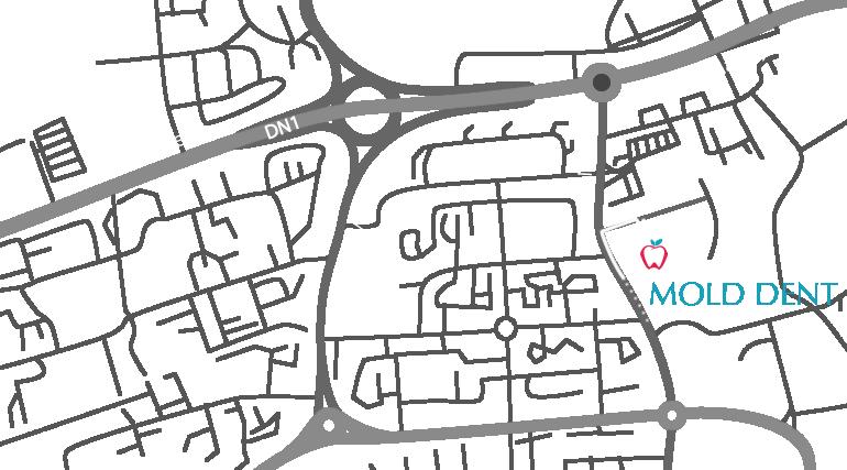 Mold Dent Cluj - produse stomatologice harta